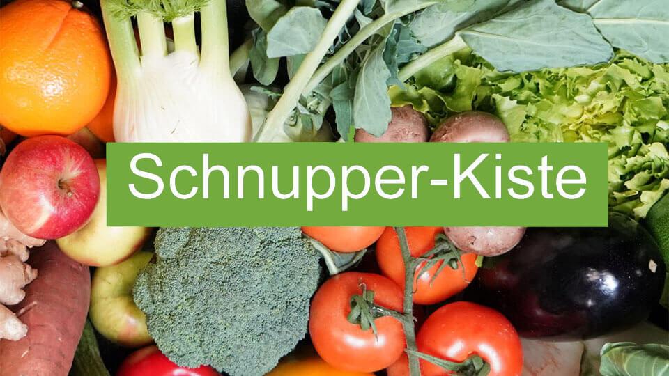 Schnupper Kiste Ökokiste Allgäu