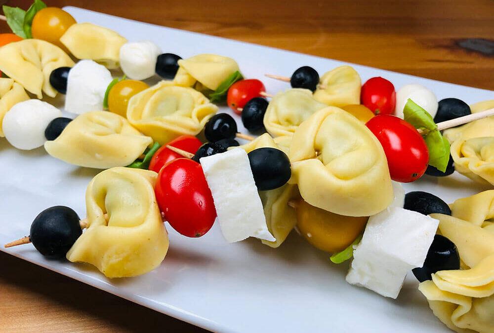 Rezept Tortellini Spieße